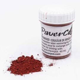 Pavercolor Stone Red, 40 ml