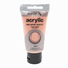 Reeves Acrylverf Flesh Tinted, tube 75 ml