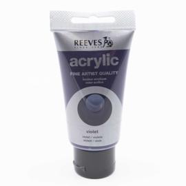 Reeves Acrylverf Violet, tube 75 ml