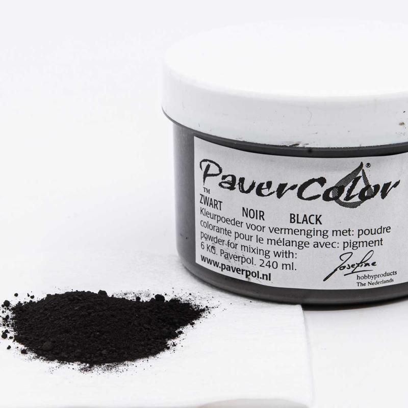 Pavercolor Zwart, 240 ml