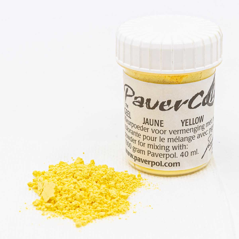 Pavercolor Yellow, 40 ml