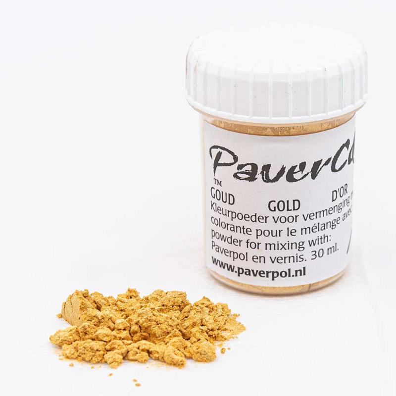 Pavercolor Goud, 30 ml