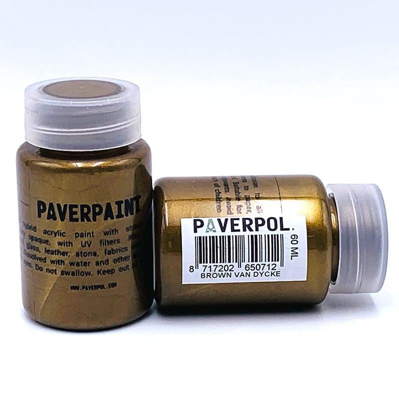 Paverpaint Brown van Dycke metallic