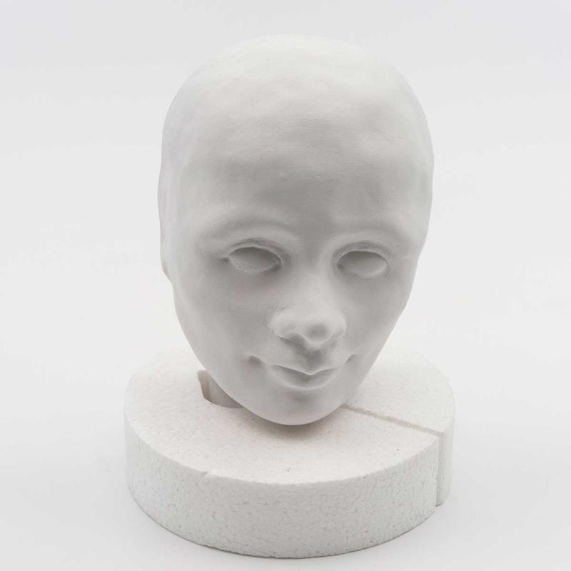 Gips hoofdje Robin 16 cm