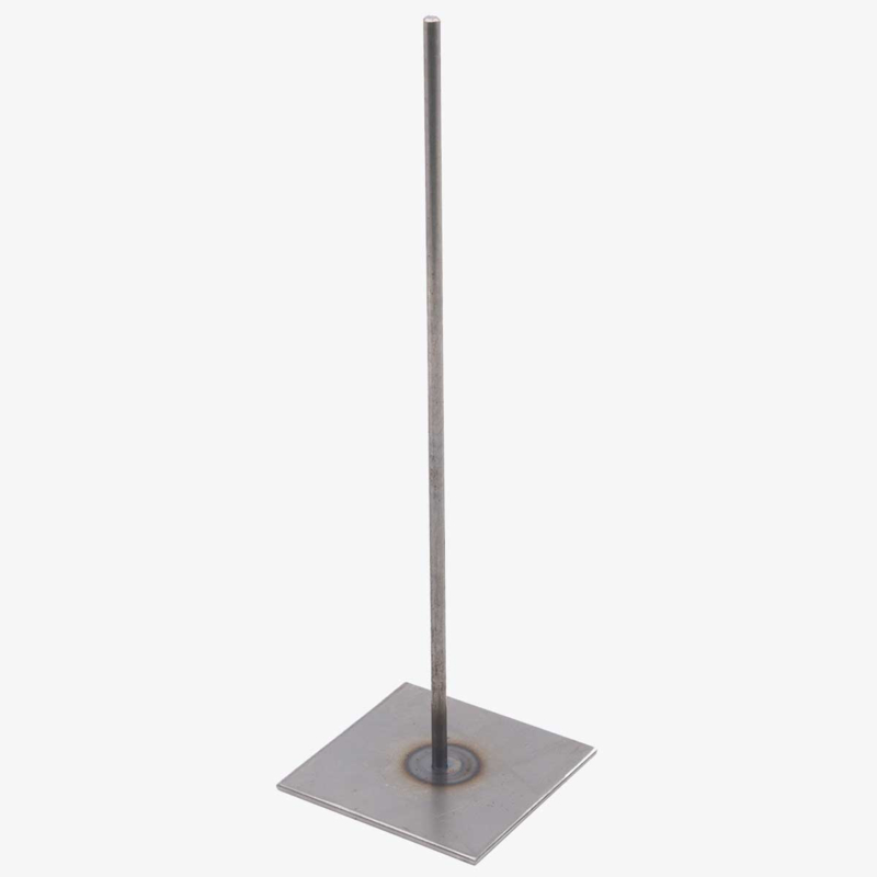 Metal pin on foot 30 cm
