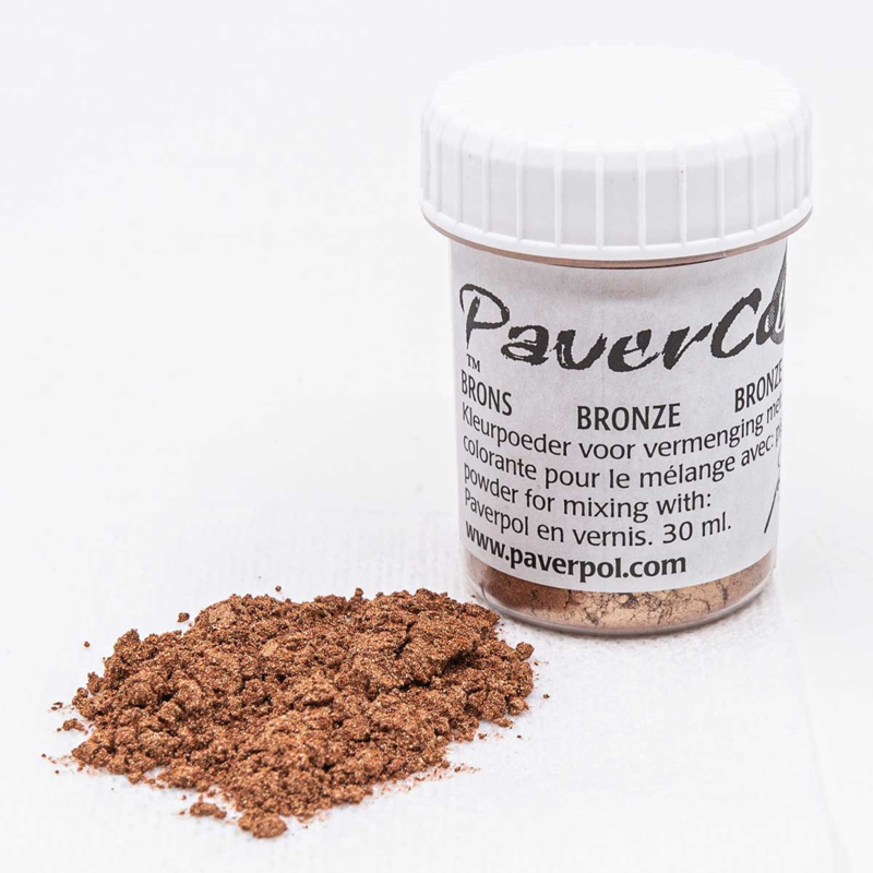 Pavercolor Brons, 30 ml