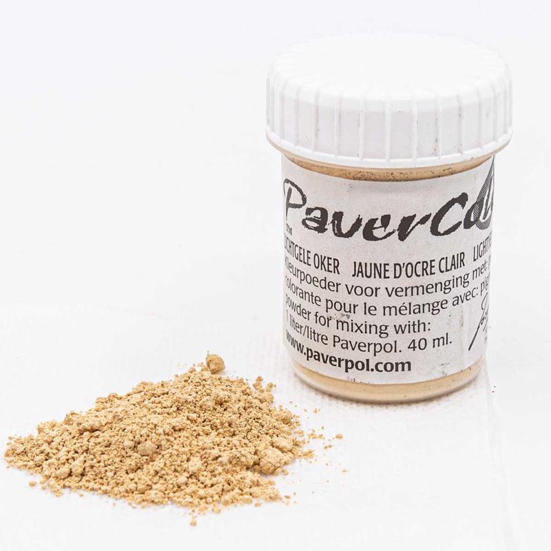 Pavercolor Light Yellow Ochre, 40 ml