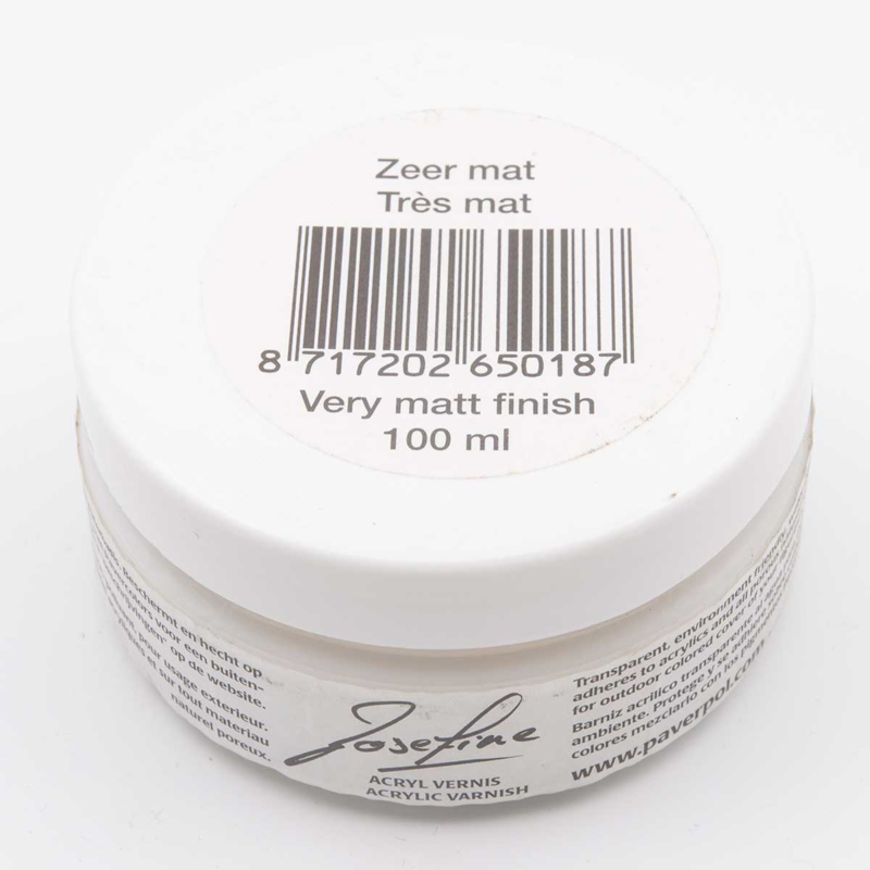 Josefine varnish very matt finish 100 ml