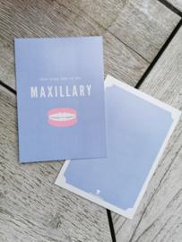 Live life to the maxillary!