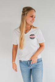 Dental babe t-shirt wit