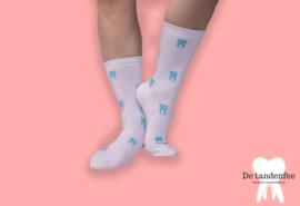 Turqoise dental socks ONESIZE FITS ALL!