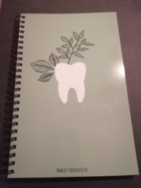Notitieboekje toothplant