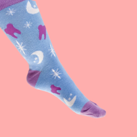 Mystery dental socks