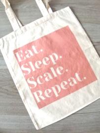 Eat. Sleep. Scale. Repeat. PINK