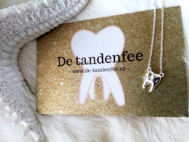 925 silver tooth necklace