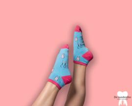 Dental socks 1.0 enkelsokken