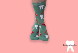 Brush and smile dental socks ONESIZE FITS ALL!