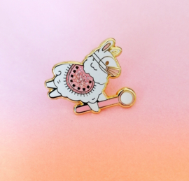 Dental alpaca pin