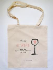 Teeth & wine lover tas