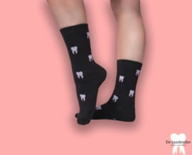 Dental socks black&white