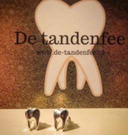 925 silver tooth earrings