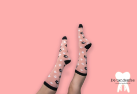 Leopard dental socks