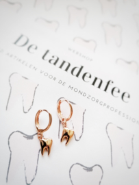 toothy earcandy rosé gold