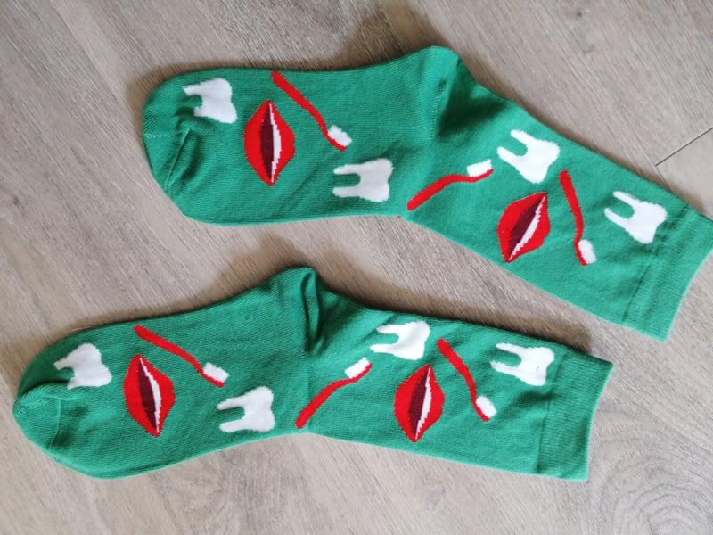 Productiefout sokken: apex resectie sokken? :-)
