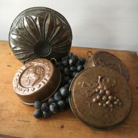 Koperen Zweedse Puddingvormen
