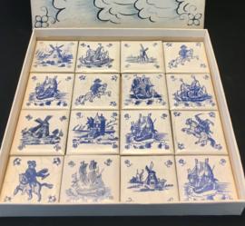 Driessen Hollandse Tegeltjes Old Dutch Tiles Collectibles