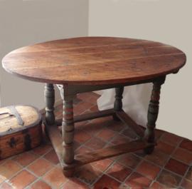 Ovale keukentafel