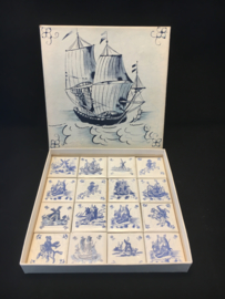 Driessen Hollandse Tegeltjes Old Dutch Tiles Collectibles