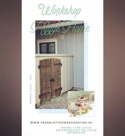 Hygge Workshop met Lunch ( 11:00 - 15:00 uur)