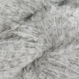 Alpaca bouclé superfine grijs 25