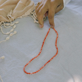 Sweet coral necklace