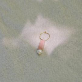 Rhodochrosiet earring