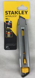 Stanley Interlock uitschuifbaar afbreekmes 18mm