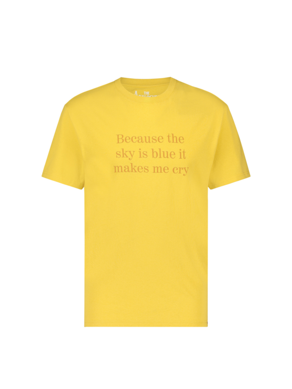 Because the sky is blue T-shirt Yellow