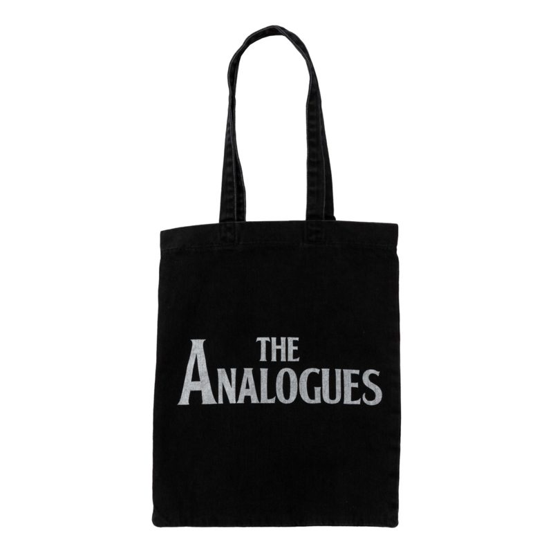 The Analogues logo tote bag