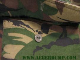 Blouse korte mouw camouflage