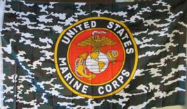 US Marine Corps vlag. 1,5 x 1 meter