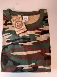 Camouflage  shirt lange mouw
