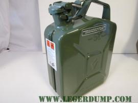 Jerrycan metaal inhoud 5 liter