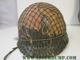 Legerhelm van het Nederlandse leger (gebruikt)