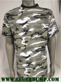 T-shirt Camouflage urban