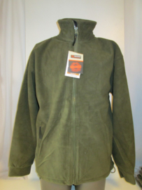 Fleece jacket olive