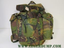 Rugzak Camouflage gebruikt, inhoud 35 liter