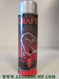 Spuitbus Crafts wielzilver, rally acrylic