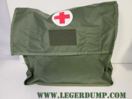 Rode kruis tas (EHBO) van kunststof cq plastic