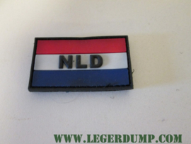 Embleem NLD klein 2,8 x 5 cm